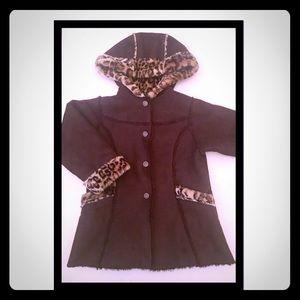 Little Girls coat by Osh Kosh. EUC. Size 5/6.